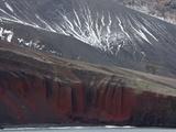 Rock Cliffs  Deception Island  South Shetlands  Antarctic  Polar Regions