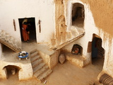 Berber Underground Dwellings  Matmata  Tunisia  North Africa  Africa
