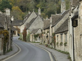 Main Street Through the Village of Castle Combe  Wiltshire  Cotswolds  England  United Kingdom
