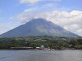 Volcano Concepcion  Isla De Ometepe  Ometepe Island  Lake Nicaragua  Nicaragua  Central America
