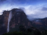 Angel Falls at Dawn  Canaima National Park  Guayana Highlands  Venezuela