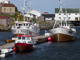 Moored Fishing Boats  Vesteralen Archipelago  Norway