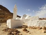 Seven Sleepers Mosque  Chenini  Sahara Desert  Tunisia  North Africa  Africa