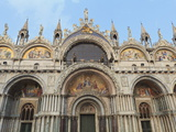 St Mark's Basilica  Venice  UNESCO World Heritage Site  Veneto  Italy  Europe