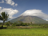 Mayon Volcanic Cone  Legazpi  Bicol  Luzon  Philippines  Southeast Asia  Asia