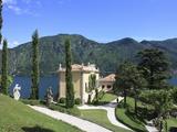 Villa Balbianello  Lenno  Lake Como  Lombardy  Italy  Europe
