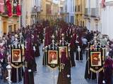 Semana Santa (Holy Week) Celebrations  Malaga  Andalucia  Spain  Europe