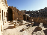 Roman Amphitheatre  El Jem  UNESCO World Heritage Site  Tunisia  North Africa  Africa