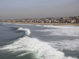 Hermosa Beach  Pacific Ocean  Los Angeles  California  United States of America  North America