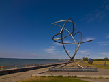 Sculpture at the Beachfront of Pirita  Tallinn  Estonia  Baltic States  Europe