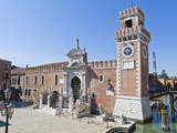 Arsenale  Part of the City's Fortifications  Now the Naval Museum  Venice  Veneto  Italy