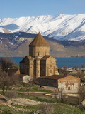 Armenian Church  Akdamar Island  Lake Van  Anatolia  Turkey  Eurasia
