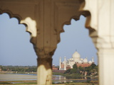 View of Taj Mahal From Agra Fort  UNESCO World Heritage Site  Agra  Uttar Pradesh  India  Asia