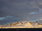 Sunrise at Gerlach Strait  Antarctica  Polar Regions