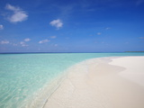 Beach and Sea  Maldives  Indian Ocean  Asia