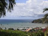 San Juan Del Sur Bay  Pacific Ocean  San Juan Del Sur  Nicaragua  Central America