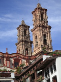 Santa Prisca Church  Taxco  Colonial Town Well Known For Its Silver Markets  Guerrero State  Mexico