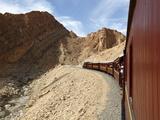 Red Lizard (Lezard Rouge) Train  Selja Gorge  Metlaoui  Tunisia  North Africa  Africa
