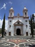 Templo De Santa Veracruz Church  Taxco  Guerrero State  Mexico  North America