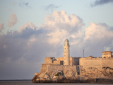Faro Castilla Del Morro  the Old Fort at the Entrance to Havana Harbour  Havana  Cuba