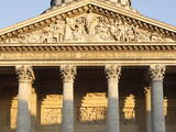 Pediment and Columns of the Pantheon  Paris  France  Europe&No10;