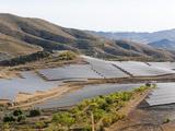 Solar Plant  Lucainena De Las Torres  Almeria  Andalucia  Spain  Europe
