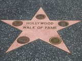 Hollywood Walk of Fame  Hollywood Boulevard  Los Angeles  California