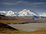 Mount Mckinley in the Fall  Denali National Park and Preserve  Alaska  USA