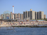 Coney Island  Brooklyn  New York City  United States of America  North America