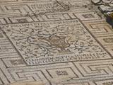 Mosaics in the 6th Century Euphrasian Basilica  UNESCO World Heritage Site  Porec  Istria  Croatia
