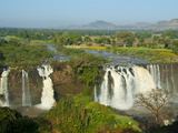 Blue Nile Falls  Waterfall on the Blue Nile River  Ethiopia  Africa