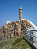 Lighthouse and Museum  Cabo Vilan  Galicia  Spain  Europe