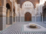 Attarine Madrasah  Fez  UNESCO World Heritage Site  Morocco  North Africa  Africa