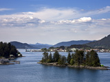 Small Islands in Sitka Sound  Baranof Island  Southeast Alaska  USA