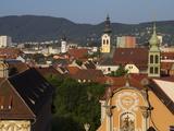 Kloster Spital  Barmherzigenkirche  UNESCO World Heritage Site  Graz  Styria  Austria  Europe