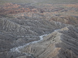 Badlands From Font's Point  Anza-Borrego Desert State Park  California  USA