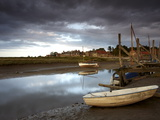 A Moody Summer Evening at Blakeney Quay  North Norfolk  England  United Kingdom  Europe