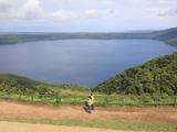 Laguna De Apoyo  a 200 Meter Deep Volcanic Crater Lake Set in a Nature Reserve  Catarina  Nicaragua