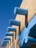 Adobe Buildings  Taos  New Mexico  USA