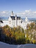 Neuschwanstein Castle  Bavaria  Germany  Europe
