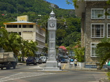 Victorian Clock Tower in the Capital Victoria  Mahe  Seychelles  Africa