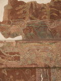Detail of the Most Famous Fresco at Teotihuacan  Showing the Rain God Tlaloc  Mexico