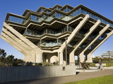 Geisel Library in University College San Diego  La Jolla  California  USA