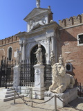 The Porta Magna  Arsenal  Venice  UNESCO World Heritage Site  Veneto  Italy  Europe