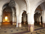 Prayer Hall of the Great Mosque  Medina  Sousse  Tunisia  North Africa  Africa