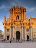 Piazza Duomo  Ortiga  Siracusa  Sicily  Italy  Europe