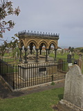 Tomb of Grace Darling  Bamburgh  Northumberland  England  United Kingdom  Europe