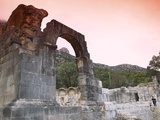Ruins of the Roman Water Temple  the Starting Point of the Aqueduct to Carthage  Zaghouan  Tunisia