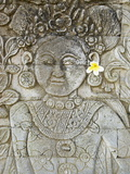 Stone Carving  Temple of Pura Dalem Jagaraga  North Coast  Bali  Indonesia  Southeast Asia  Asia