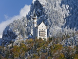 Neuschwanstein Castle  Bavaria  Germany  Europe